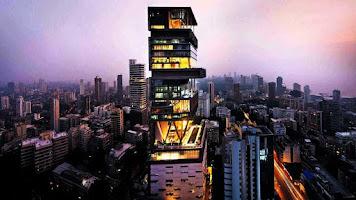Details of Ambani Residence Antilia in Mumbai `