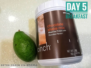 Cinch chocolate; avocado smoothies; detox shaklee; shaklee detox; detox; jom detox shaklee;