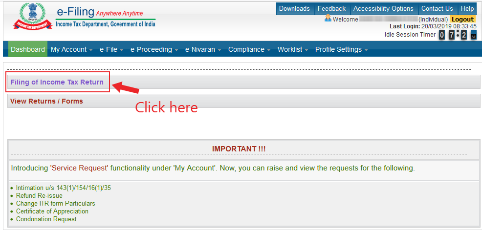 How to file Income Tax Return online for salaried employees