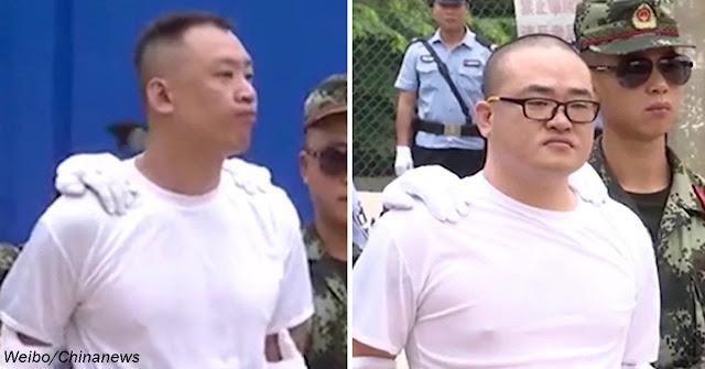 В Китае наркодилеров казнили на глазах у детей