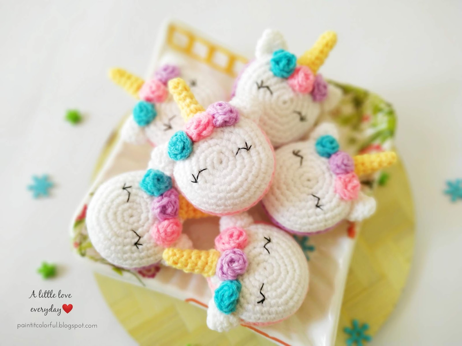Baby unicorn amigurumi pattern - Amigurumi Today | 1200x1600