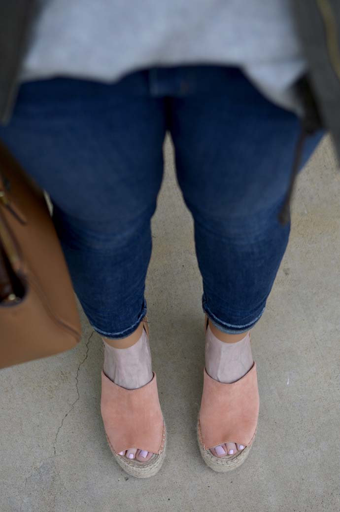 Spring Wedge Espadrilles A Blonde's Moment