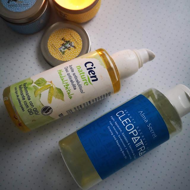 aceites corporales