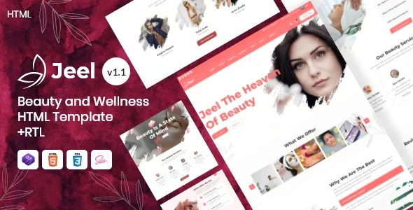 Best Beauty and Wellness HTML Template