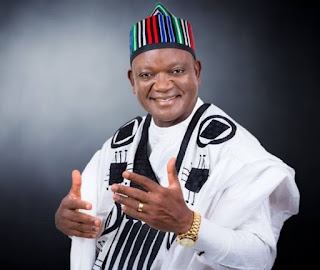 Governor Samuel Ortom of the Peoples Democratic Party, PDP, has been declared winner of the Benue State governorship election.