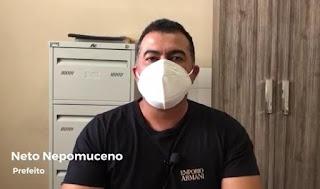 Em virtude do avanço da Covid-19 no município, prefeito decreta lockdown em Barra de Santa Rosa