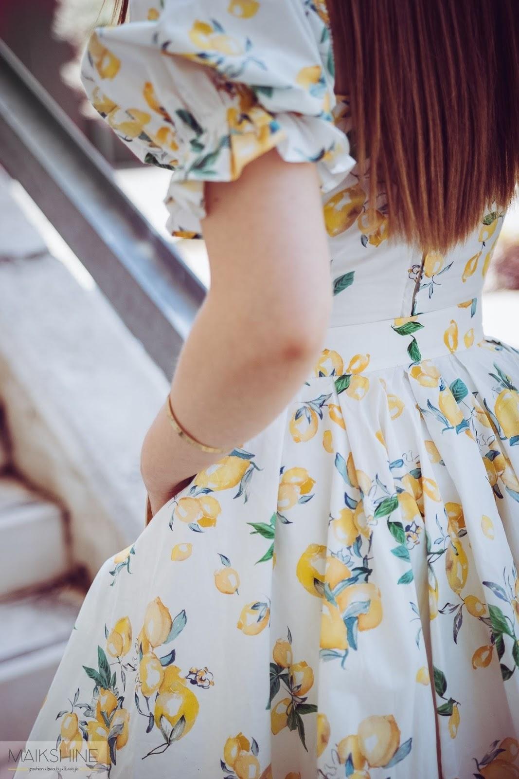 Outfit estampado limones