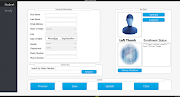 Biometric Attendance Management System in With Complete Source code
