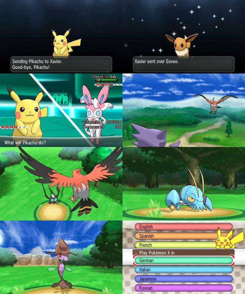 Pokemon X and Y roms