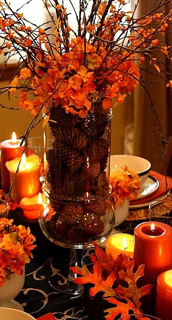 Beautiful bridal fall wedding centerpieces rustic and romantic these are my favorite fall wedding centerpiece ideas any of which i could gaze at all night long over a generous helping of maple glazed salmon junglespirit Choice Image