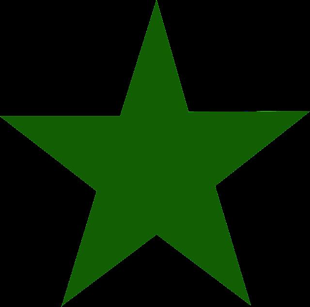 Resultado de imagem para estrela verde fotos