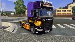 Ghost Rider S Liner skin for Scania Streamline