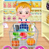 لعبة بيبي👶هازل تتسوق في السوبر ماركت