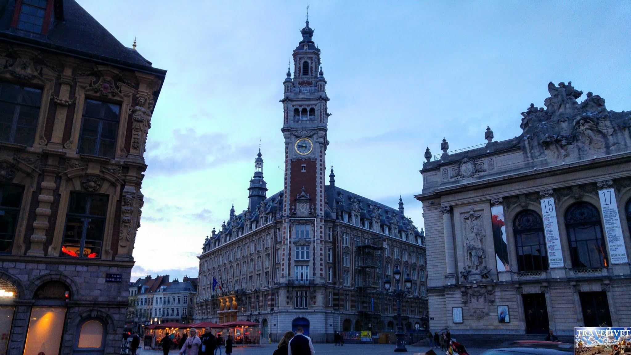 Visiter Lille en une journée pendant ton Week-end
