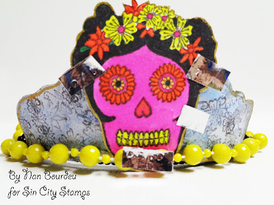 Day of the Dead and Sin City Stamps!
