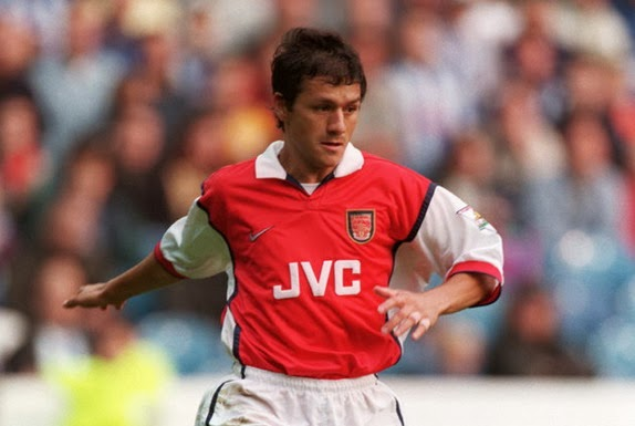 Nelson Vivas was used by Arsenal primarily as back-up player between 1998 and 2001