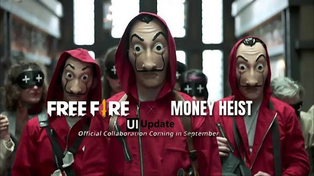 Free Fire and money heist