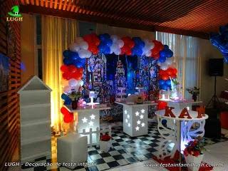 Decoração de aniversário tema Nova York - Festa infantil, adolescentes e adultos - Barra da Tijuca - RJ
