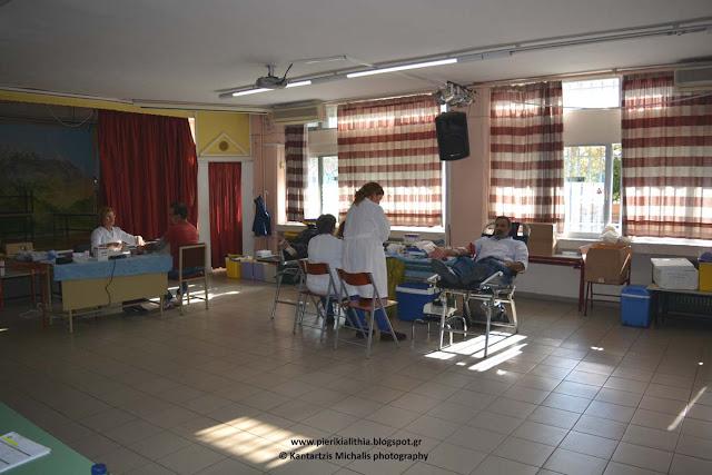 Αιμοδοσία αυτή την ώρα στο 9ο Δημοτικό Σχολείο Κατερίνης, από το Σύλλογο Εκπαιδευτικών Πρωτοβάθμιας Εκπαίδευσης Πιερίας.