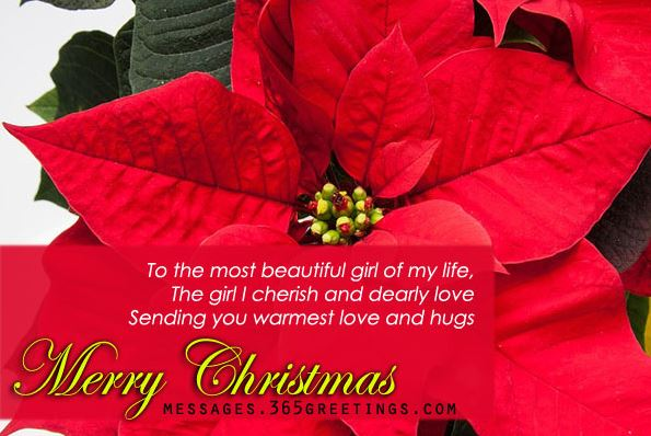 Christmas Greeting Card Messages for Girlfriend