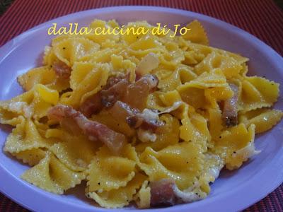Ricetta Gricia Con Salsiccia.Gricia Con Salsiccia Ricette Di Cotto E Postato