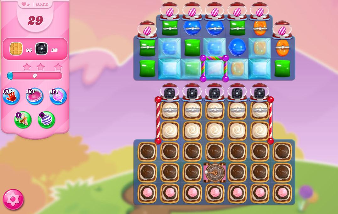 Candy Crush Saga level 6522