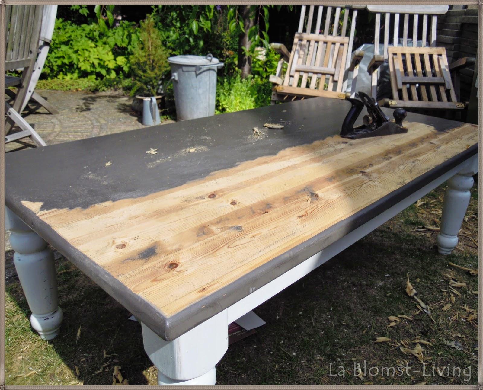 Tafel verven met krijtverf geliefde eiken tafel verven ao71
