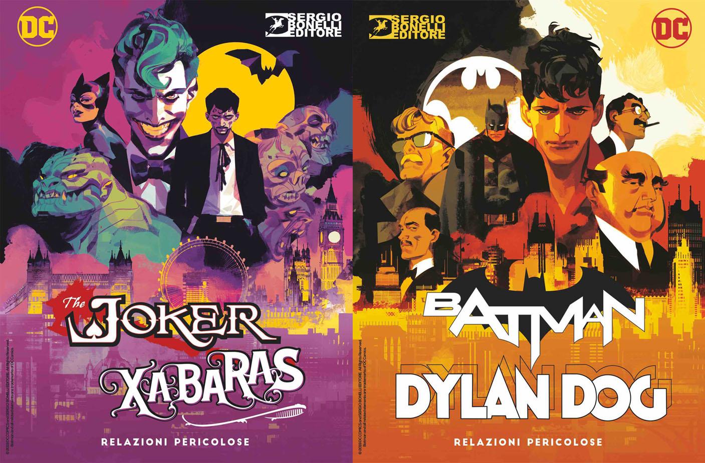 Dylan Dog Batman Relazioni Pericolose