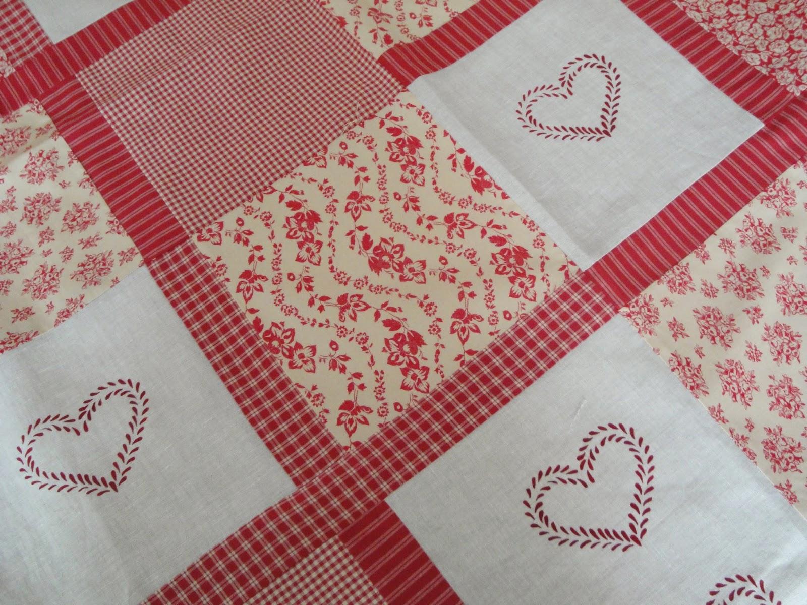El patchwork de kris quilt romantico con estilo country - Estilo patchwork ...