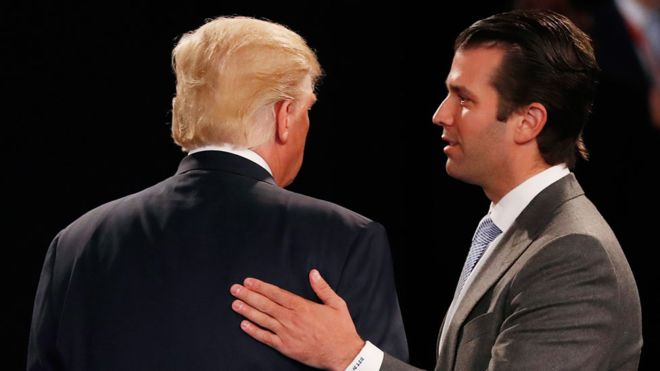 Donald Trump Jr criticises London mayor after terror attack