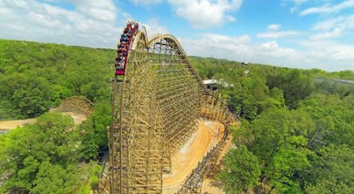 Silver Dollar City's Outlaw Run Is Among The Top 10 Best Roller Coaster