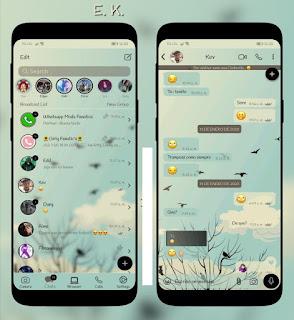 Nature Theme For YOWhatsApp & RA WhatsApp By Ethel