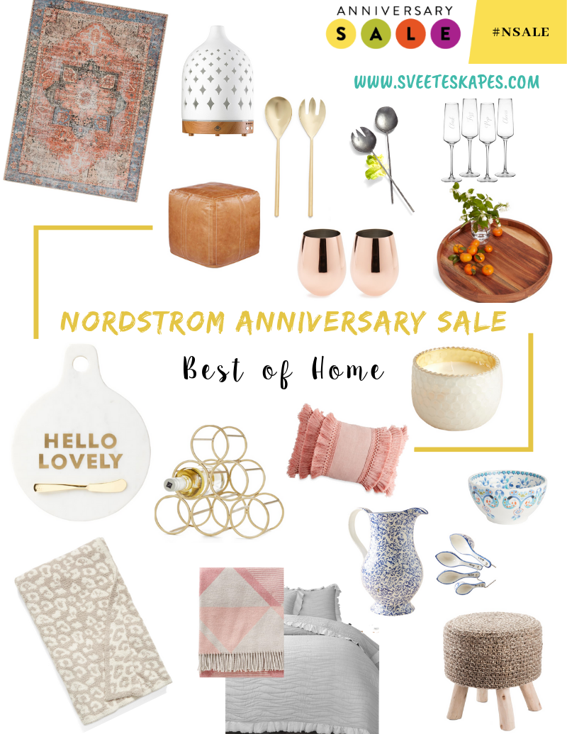 Best home decor picks from the Nordstrom Anniversary Sale featured by top US fashion blog, Sveeteskapes