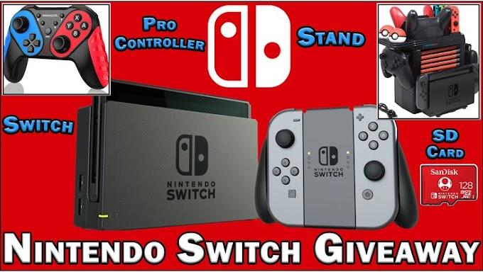 Sorteio de um Nintendo Switch Bundle