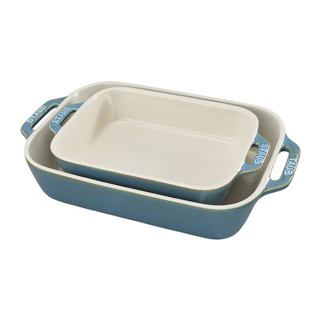Staub Ceramics Rectangular Baking Dish Set
