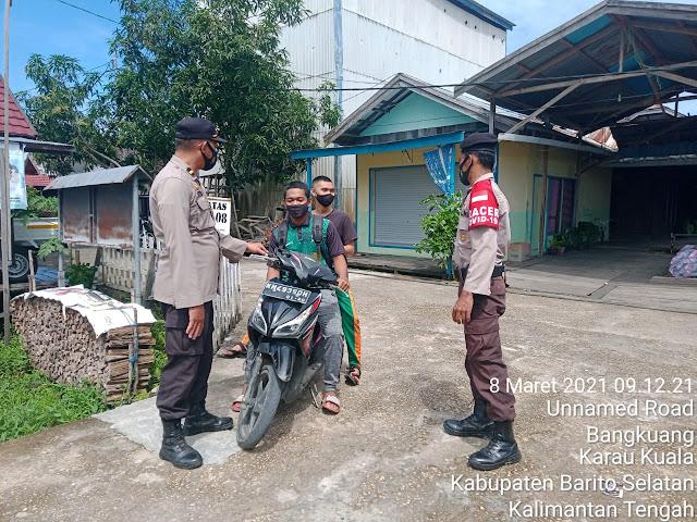 Cegah Covid-19, Satgas PPKM Skala Mikro Kelurahan Bangkuang Imbau Masyarakat Disipillin Prokes