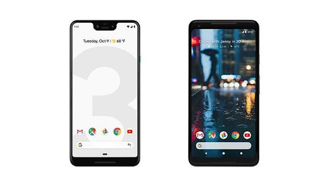 Google Pixel 3 XL screen size