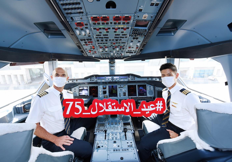 أخبار: طيران الإمارات تشارك عملاءها الأردنيين الاحتفال بعيد الاستقلال الـ75