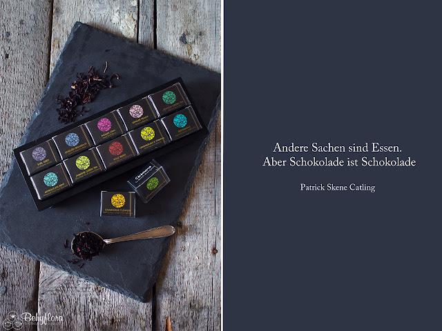 Zitat Schokolade und Ceremonie Tea