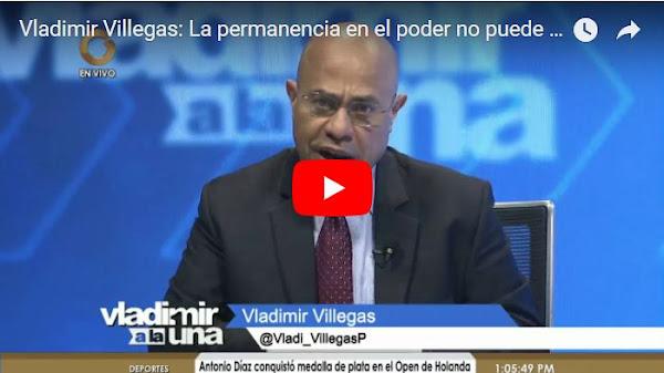 Vladimir Villegas le tiró con todo a Delcy la Fea en su programa