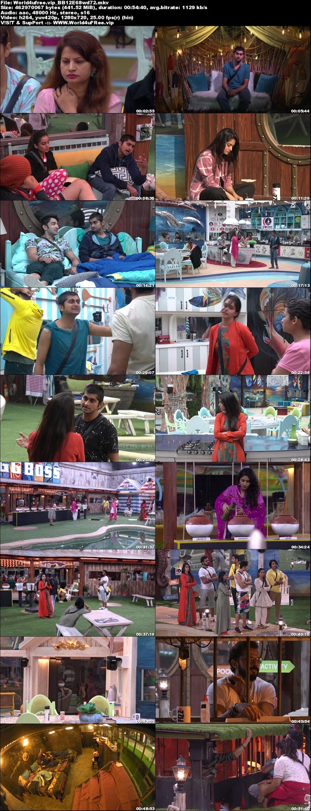 Bigg Boss 12 Episode 68 23 November 2018 720p WEBRip 400Mb x264 world4ufree.vip tv show Bigg Boss 12 Download Episode 68 23  november 2018 world4ufree.vip 400mb 720p HD  free download or watch online at world4ufree.vip