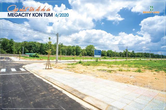 Hạ tầng dự án Mega city KonTum 4
