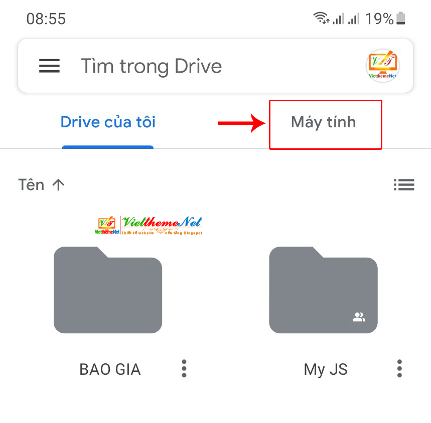 Lưu trữ và đồng bộ dữ liệu giữa máy tính và SMartphone giúp truy cập mọi lúc, mọi nơi với 15GB của Google Drive