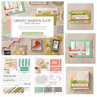 What's Up! Wednesday - Ornate Garden Suite (Early Annual Catalog 2020 New Release!)