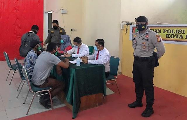 Negara Hadir, Polri Gelar Operasi Yustisi, Sidang Ditempat Bagi Pelanggar Prokes