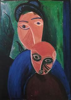 Мать и ребёнок 1901 Пабло Пикассо