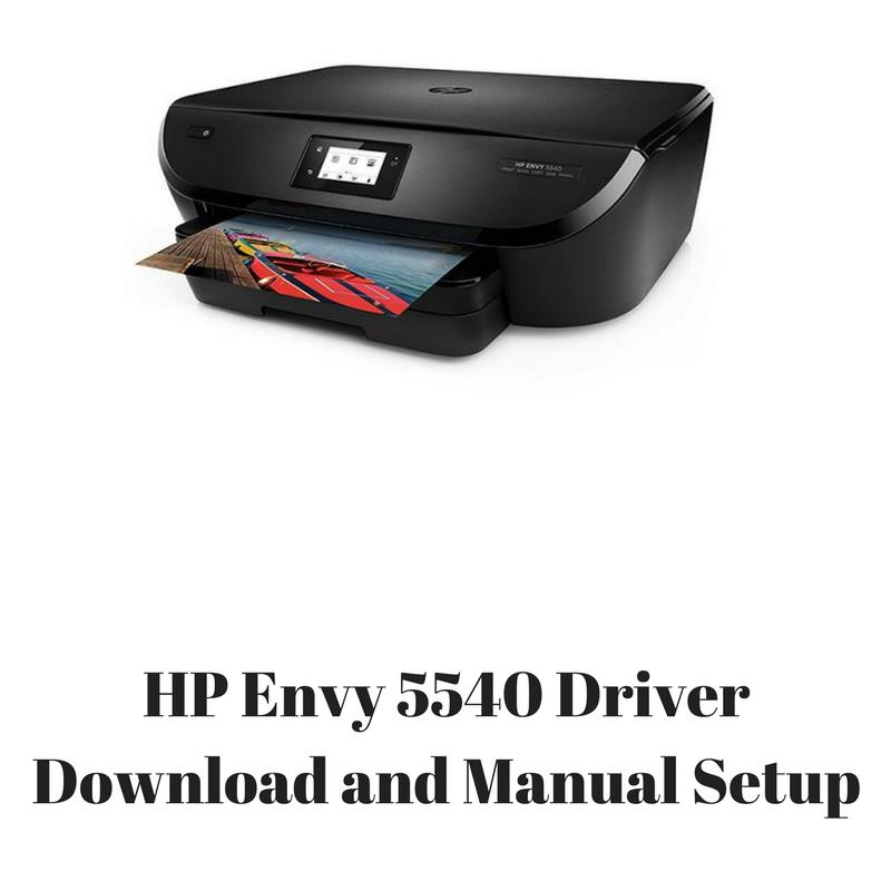 HP ENVY 5540 TÉLÉCHARGER LOGICIEL