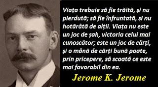 Citatul zilei: 2 mai - Jerome K. Jerome