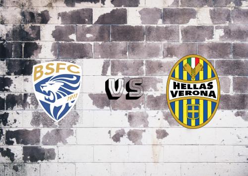 Brescia vs Hellas Verona  Resumen