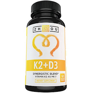 Vitamin K2 (MK7) with D3 Supplement